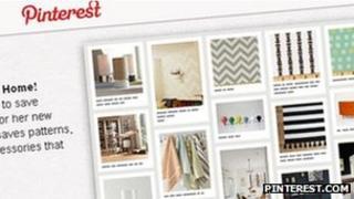 Pinterest screengrab