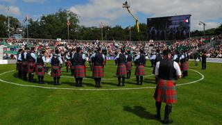 The Field Marshal Montgomery Pipe Band were the winners