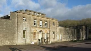 The Old Prison building in Northleach