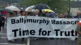 Ballymurphy demonstration