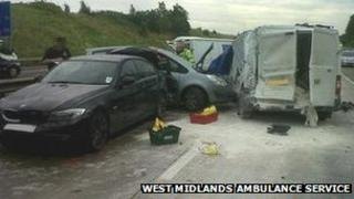 M42 crash