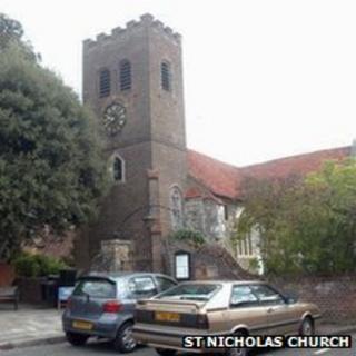St Nicholas Church, Shepperton