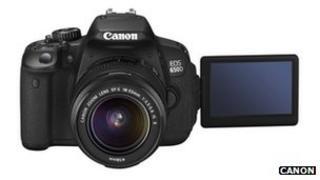 The Canon EOS 650D