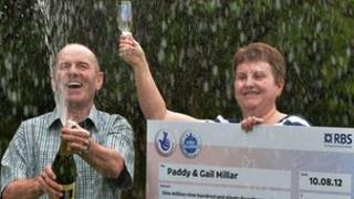 Paddy and Gail Millar