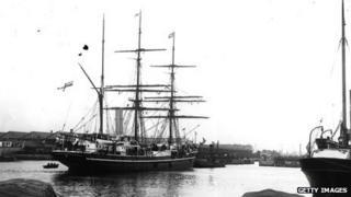 Terra Nova in 1910
