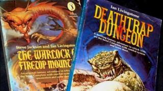Fighting Fantasy books