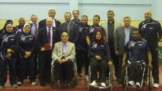 Egyptian Paralympic team