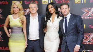 X Factor judges and presenters