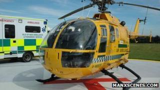 Isle of Man air ambulance