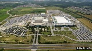 Samsung's Austin plant
