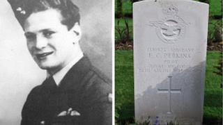 Sgt Edward Perkins, from Tunbridge wells, is buried at Gloucester cemetery
