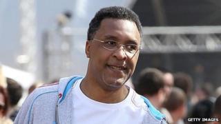 Former boxer Michael Watson