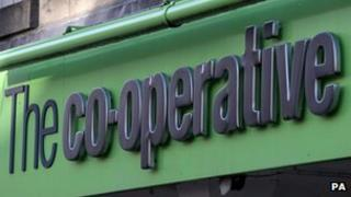 Co-operative shop front