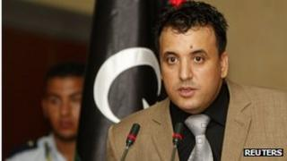 Libyan Interior Ministry spokesman Abdelmonem al-Hur
