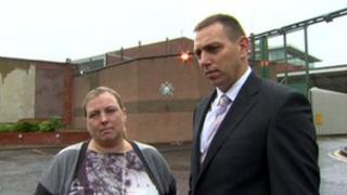 Margaret Sullivan and her solicitor Padraig Ómuirigh held a meeting with the police