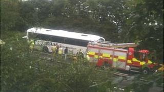 Coach crash