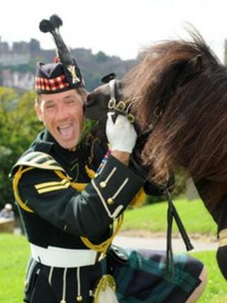 Cpl William Perrie and Cruachan III