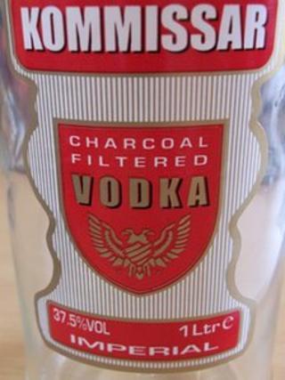 Fake Kommissar vodka