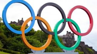Olympics on the mound in Edinbugrh