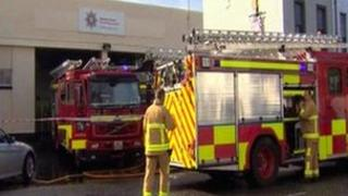 The PSNI are now investigating the blaze at Limavady Fire Station