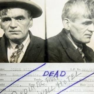 Mugshots of William Jones