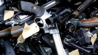 Guns taken out of circulation