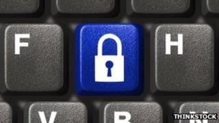 Lock symbol on keyboard