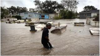 Plaquemines Parish, Louisiana, 29 August 2012