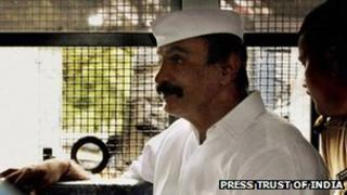 Arun Gawli being taken to court