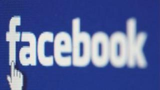 File photo dated 17/01/08 of the Facebook icon displayed on a laptop