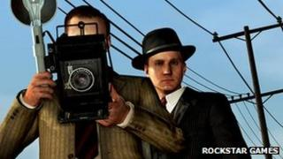 A still from LA Noire
