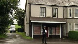 The stabbing took place at a flat near Castledawson