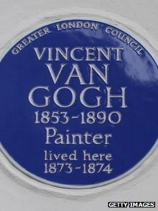 A blue plaque like this one in London could start appearing around Swansea