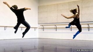 Two students rehearsing at Amsterdam's prestigious School of Arts
