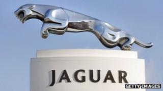 Leaping Jaguar sign