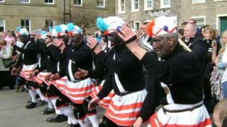 The Britannia Coco-nut Dancers