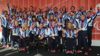 ParalympicsGB medal winners