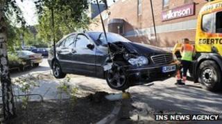 Sir Tony's Mercedes