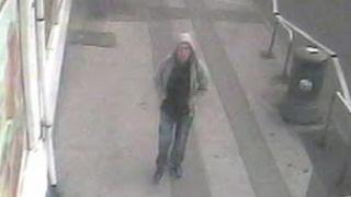 CCTV of the man police want to trace