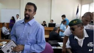 Jason Puracal at his appeals hearing on 12 September 2012