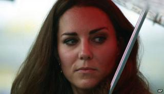 Britain's Kate, the Duchess of Cambridge