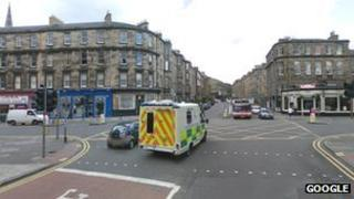 South Clerk Street and East Preston Street junction in Edinburgh
