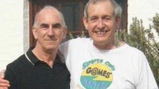 Michael Black (l) and John Morgan