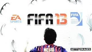 EA Sports presents FIFA 13 during the EA media briefing at the E3 2012 in Los Angeles