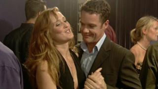 Heather and Marcus, played by Stephan Dennis