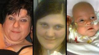 Kim Buckley, Kayleigh Buckley and Kimberley Buckley