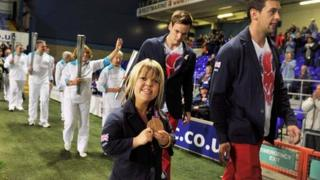 Zoe Newson, Jonathan Adams and Scott Moorhouse at Portman Road