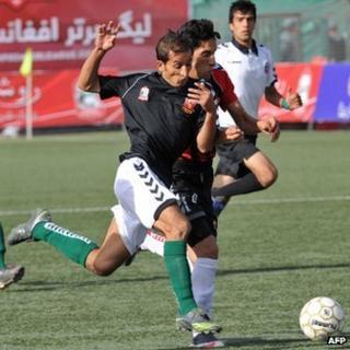 Afghan footballers