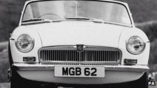 1962 MGB