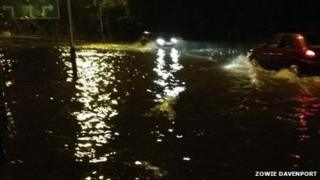 Peel Road flooding by Zowie Hankinson Davenport